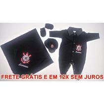 Saída De Maternidade Personalizada - Corinthians Masculino