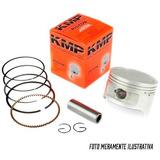 Kit Pistao E Anéis Honda Cg 125 Titan Fan 4mm Competiçao Kmp