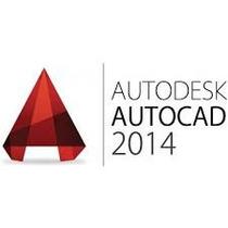 Autcad 2014 Ing/port 32 & 64 Bits + Curso Receba Hoje