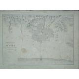 Antiguo Plano Topográfico De Ciudad De Puno, Paz Soldan,1865