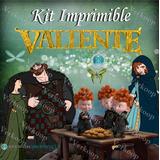 Kit Imprimible Valiente Brave Invitaciones Tarjetas Frames