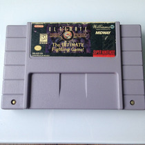 Cartucho Mortal Kombat 3 Ultimate Original - Super Nintendo