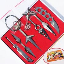 Naruto 8 Armas Collar Envio Gratis Kunai Shuriken Shippuden
