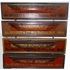 Quadros Antigos Da Bradley & Ship Building Company 1864