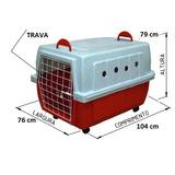 Caixa Transporte Caes Grandes N. 5 - Excelente Qualidade