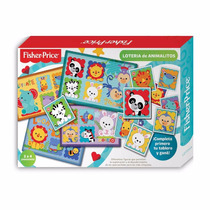 Juego De Loteria Fisher Price Primera Infancia Didactico