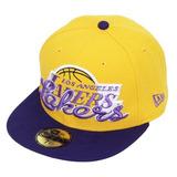 Boné New Era 59fifty - Los Angeles Lakers Dow Nba - Aba Reta
