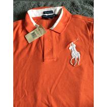 Camisa Polo Rauph Lauren Feminina Original Usa Promocao