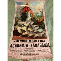 Poster Bailaora Flamenca Ole!