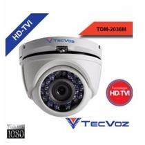 Qdm-228 - Câmera Dome Flex Tecvoz 2.0 Megapixel 25mt