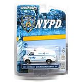1977 Chevrolet G20 Van Policía De Nueva York Servicio De Em