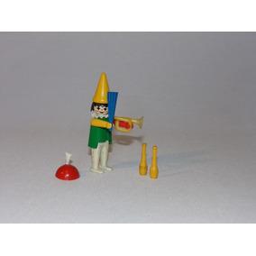 Playmobil Trol - Palhaço Do Circo E Acessórios Extras