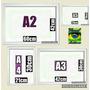 Kit C/04=molduras/quadros/painel Em Mdf/vidros P/ Paredes