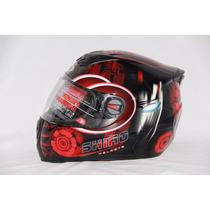 Casco Shiro Sh-821 Iron Man