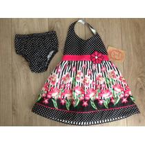 Vestido De Festa Infantil Importado 2-3 Anos
