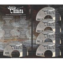 Box Recanto Da Chibata - 4 Cds E 1 Dvd - Coletânia 10 Anos