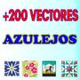 Azulejos En Vector Para Vinilo,decoracion,sublimacion,corel