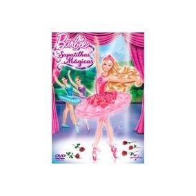 Dvd Original Do Filme Barbie E As Sapatilhas Mágicas
