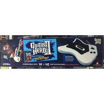 Guitarra Original Guitar Hero+ Juego Guitar Hero 2 Ps2 Nueva
