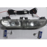 Kit Faro Auxiliar Vw Gol / Saveiro 1995 96 97 98 99 2000 Ab9