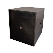 Caixa Acústica Profissional Eco Som Sub Grave Br2518 Ativa