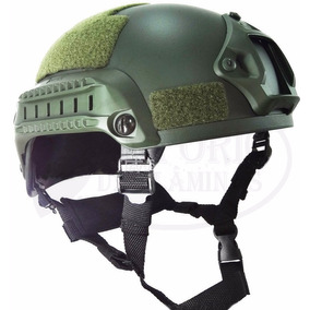Capacete Tático Militar Paintball Airsoft Mich 2001