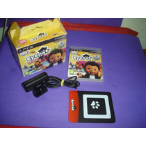 Playstation 3 : Eye Pet Na Caixa + Camera Original