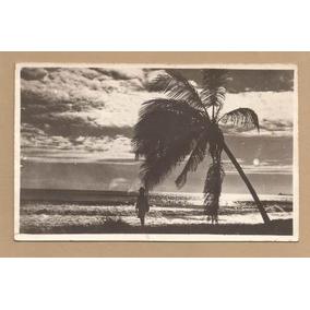 Ce-001 1953 - Postal Praia Fortaleza Com Selo Netinha R-471