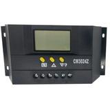 Controlador De Carga Painel Solar Automatico 30a 12v/24v