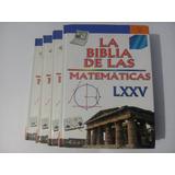 4 Libros Biblia D La Matemáticas Enciclopedia Escolar Comple