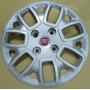 Calotas Aro 14 (04 Pçs) Novo Fiat Uno Vivace 2014 + Emblemas