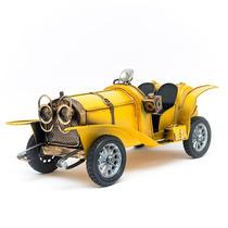 Miniatura Carro Antigo Conversível - Amarelo