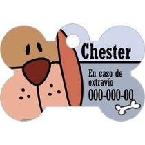 Placas Identificación- Dog Tag - Mascota Dogtag Perro Gato