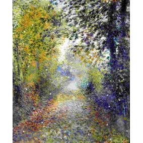 Lienzo Tela Canvas Arte Auguste Renoir El Bosque 90 X 110 Cm