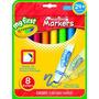 Crayola Mis Primeros Marcadores Lavables De Crayola 8ct
