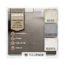 Porcellanato San Pietro Cemento Marfil 53x53 Primera