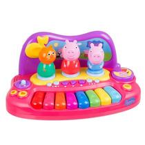 Piano Com Personagens Peppa Pig Multikids - Br203