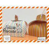 Souvenir Evento Caja S1 Personalizada Pascua Conejo Huevo