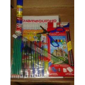 Material Escolar Para Meninos - Kit 28 Itens