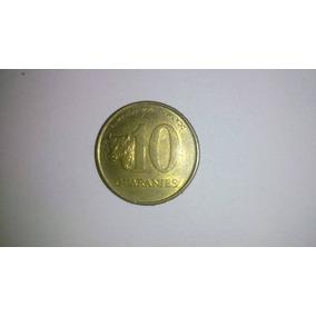 Moeda 10 Guaranies Paraguai 1996!!!