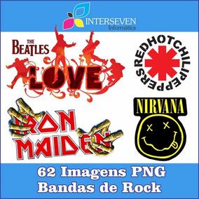 Pacote Bandas De Rock Com 62 Imagens Em Png