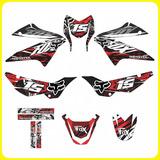 Kits Adhesivos Gráficos Para Motos Honda Xr 150, Fox Monster