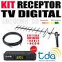 Kit Tda Larga Distancia Sintonizador + Ant Ext + 10 Mt Cable