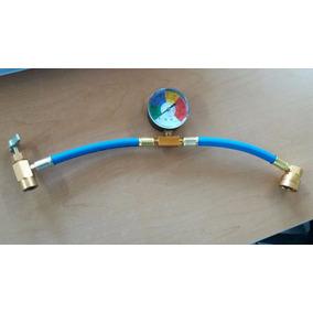 Manguera Para Gas 134a Con Manómetro Axpro  eqp-mcma-001p