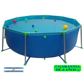 Piletas de lona en bs as g b a oeste en mercado libre for Piscina desmontable rectangular 3x2