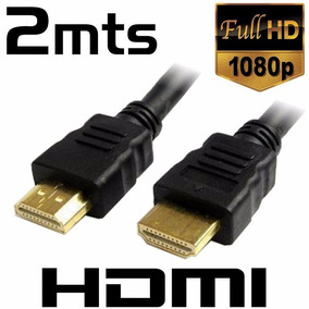 Cable Hdmi | 2mt | 1.4 | 1080p Fullhd | 3d | Blu-ray