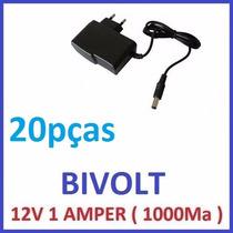 Fonte Estabilizada Chaveada 12v 1a Cftv Camera Led Arduino !