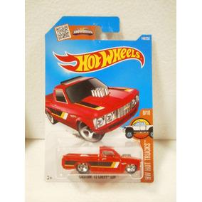 Hot Wheels Camioneta Custom 72 Chevy Luv Rojo 148/250 2016
