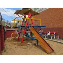 Playground Em Madeira C/ 12 Brinquedos