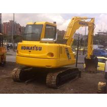 Retroexcavadora Komatsu Pc75 Año 2002